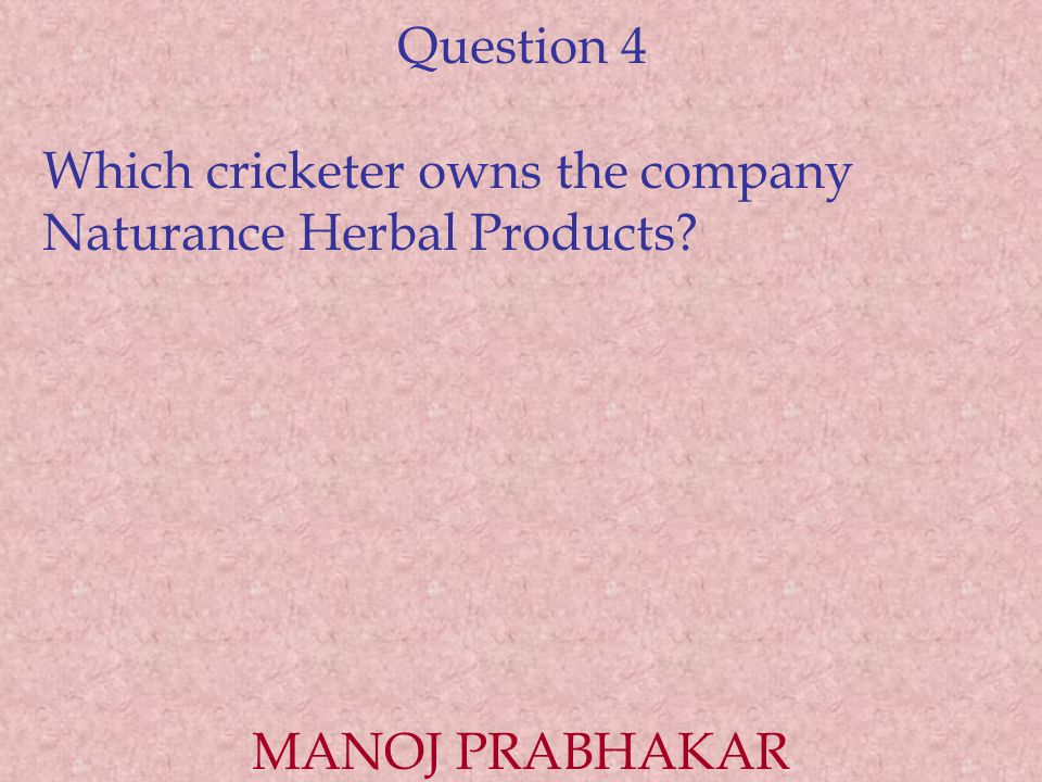 Question 5 Who was the first sportsman from the USSR to appear in a western commercial.