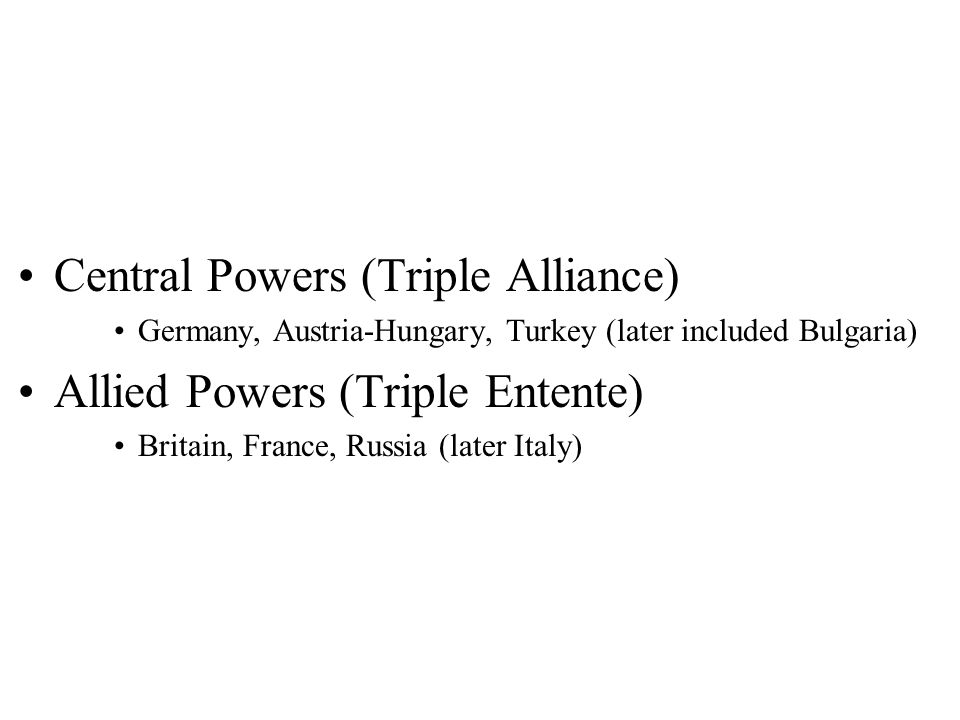 Human Cost: Germany:1, 773,700 Russian:1,700,000 France:1,357,000 Austria-Hungary1,200,000 British Empire908,371 Italy650,000 Romania335,706 Turkey325,000 Bulgaria87,000 Serbia 45,000 United States 116,516