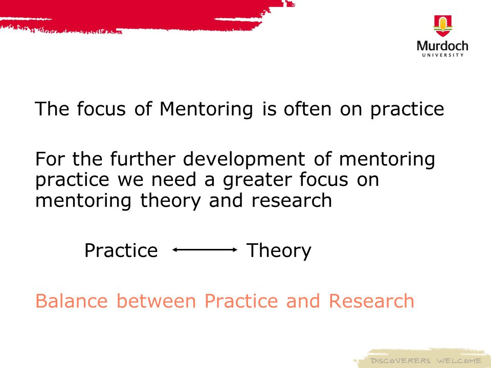 Where does mentoring fit with other programs.