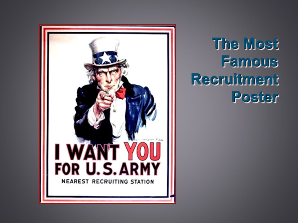 The Most Famous Recruitment Poster