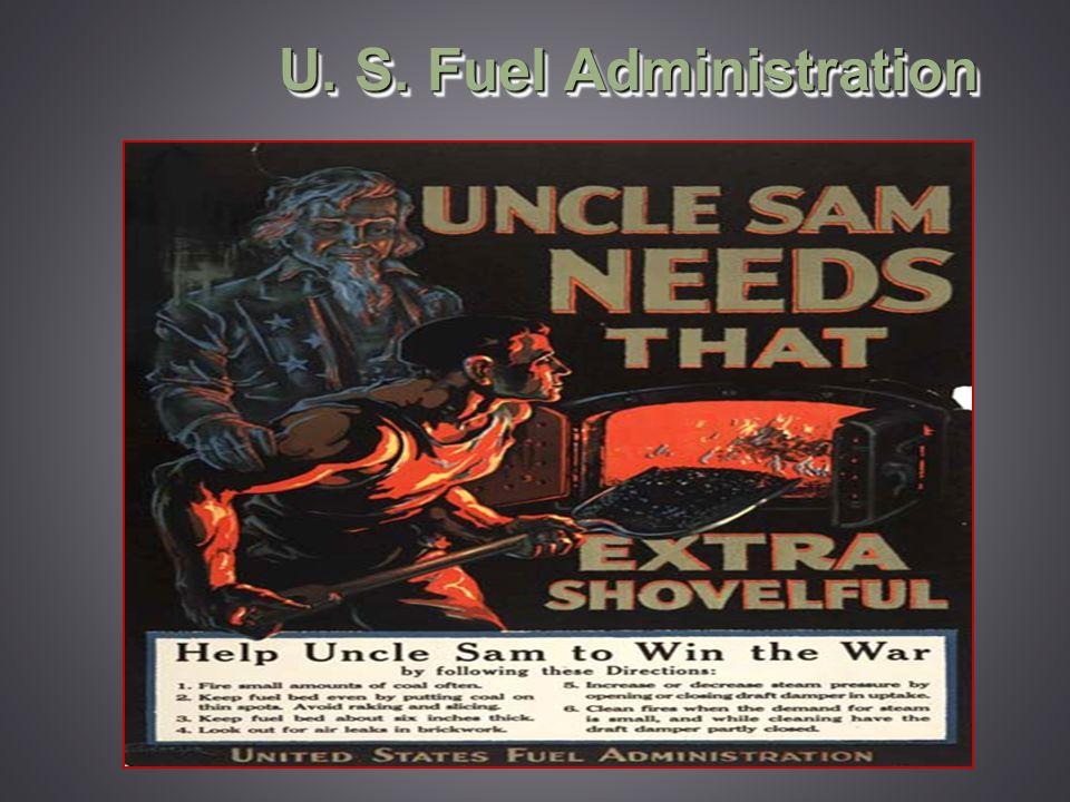 U. S. Fuel Administration