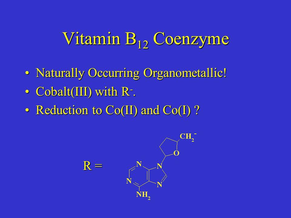 Naturally Occurring Organometallic!Naturally Occurring Organometallic.