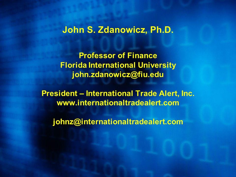 John S. Zdanowicz, Ph.D.