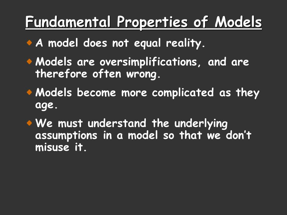 Models Models are attempts to explain how nature operates on the microscopic level based on experiences in the macroscopic world.