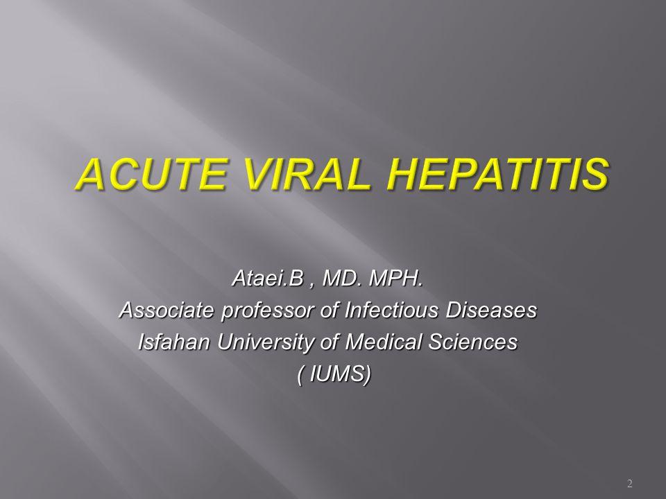 Jaundice Symptoms ALT Total anti-HDV IgM anti-HDV HDV RNA HBsAg HBV - HDV Superinfection Typical Serologic Course Time after Exposure Titre