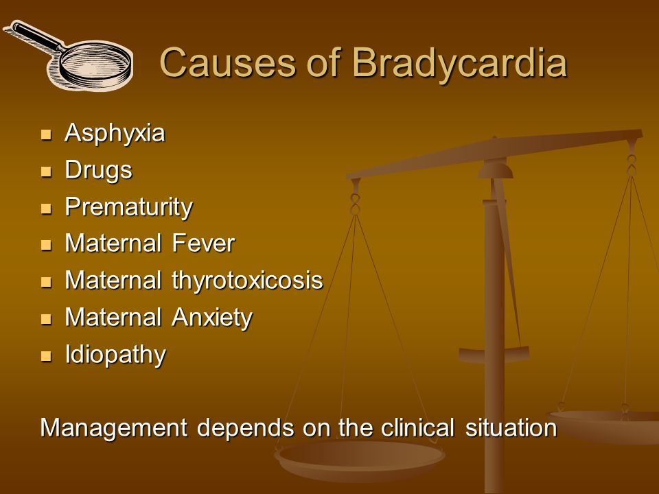 Baseline Tachycardia  Asphyxia  Drugs  Prematurity  Maternal fever  Maternal thyrotoxicosis  Maternal Anxiety  Idiopathy