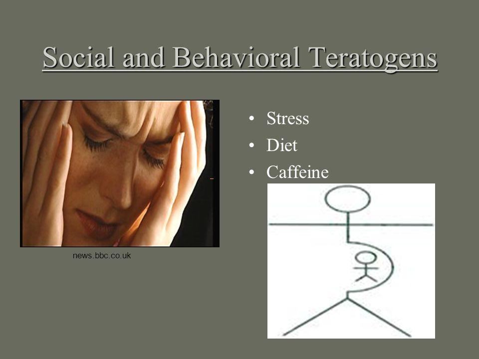 Social and Behavioral Teratogens Stress Diet Caffeine news.bbc.co.uk