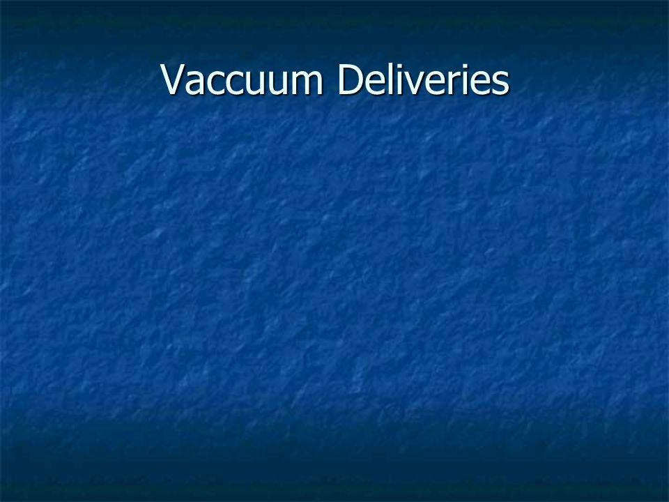 Vaccuum Deliveries
