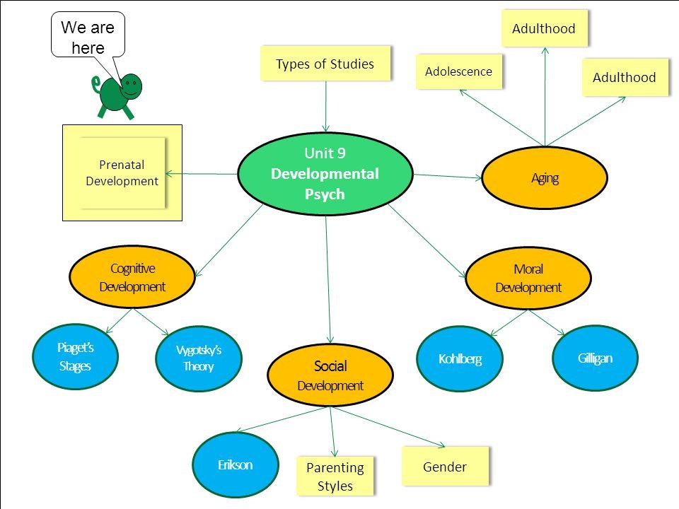 Outline 9-2 Gestation –Zygote –Embryo –Fetus Factors that influence fetal development –teratogens –Fetal Alcohol Syndrome) Developmental Norms