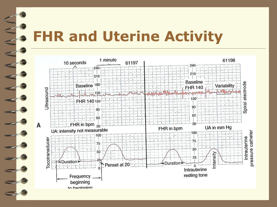 FHR and Uterine Activity