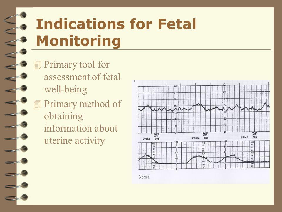 Other Methods of Fetal Assessment 4 Fetal Scalp Sampling 4 Scalp stimulation 4 Acoustic stimulation 4 Fetal pulse oximetry 4 Umbilical cord acid base determination