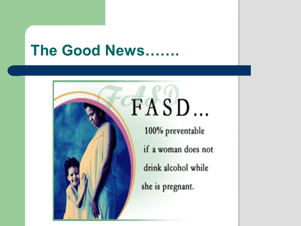 The Good News…….