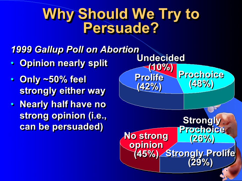 Why Should We Try to Persuade.