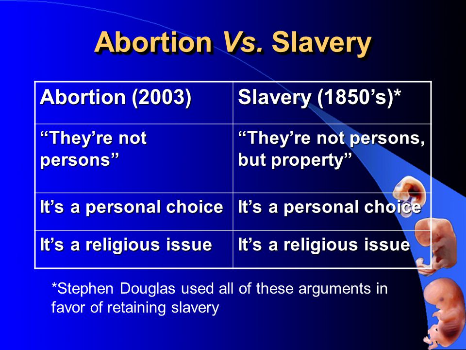 Abortion Vs.