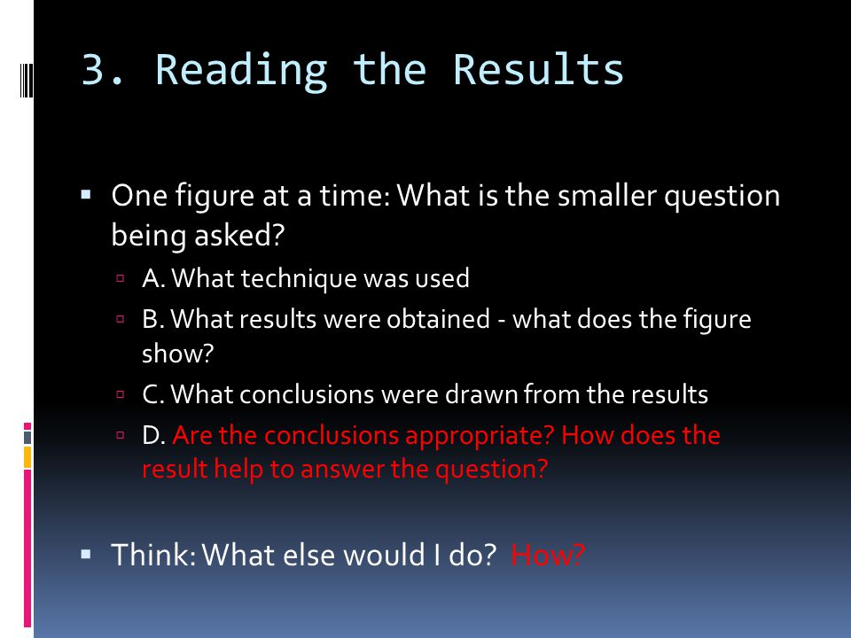 5.Critique - 2PTS Have they supported their hypothesis.