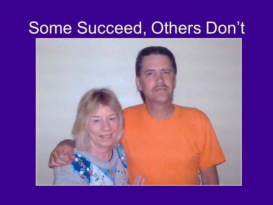 Some Succeed, Others Don't Some adults with FASD succeed, others fall into the cracks.