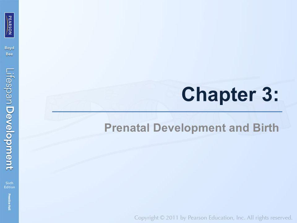 Chapter 3: Prenatal Development and Birth