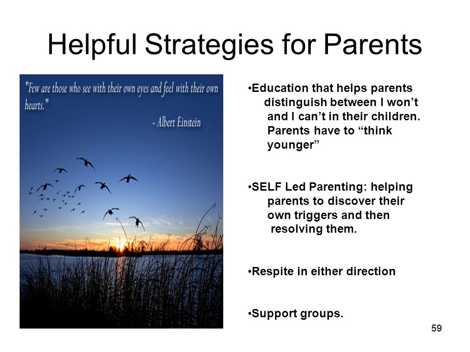59 Helpful Strategies for Parents Education that helps parents distinguish between I won't and I can't in their children.