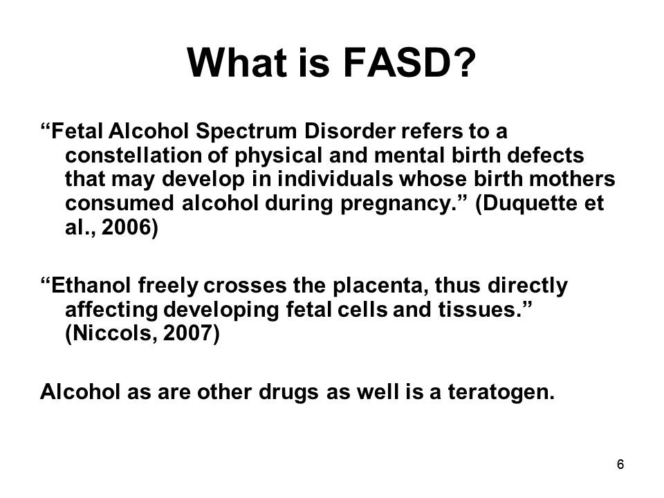 66 What is FASD.