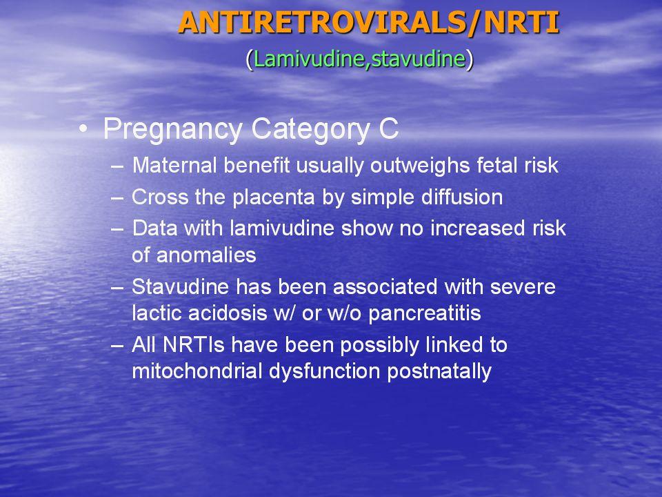 ANTIRETROVIRALS/NRTI (Lamivudine,stavudine) (Lamivudine,stavudine)