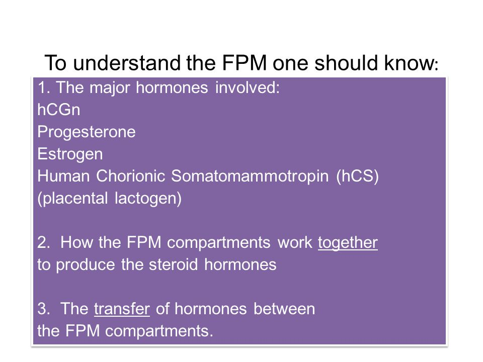 To understand the FPM one should know : 1.