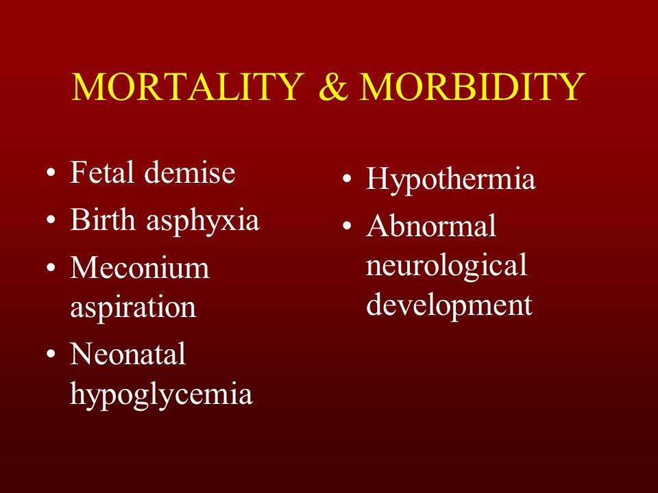 *Constitutionally small mother *Poor maternal weight gain & nutrition *Social deprivation Maternal causes