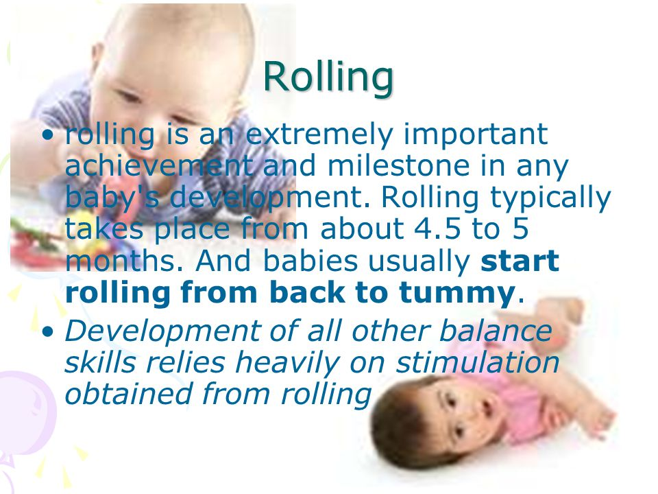 Rolling rolling is an extremely important achievement and milestone in any baby s development.