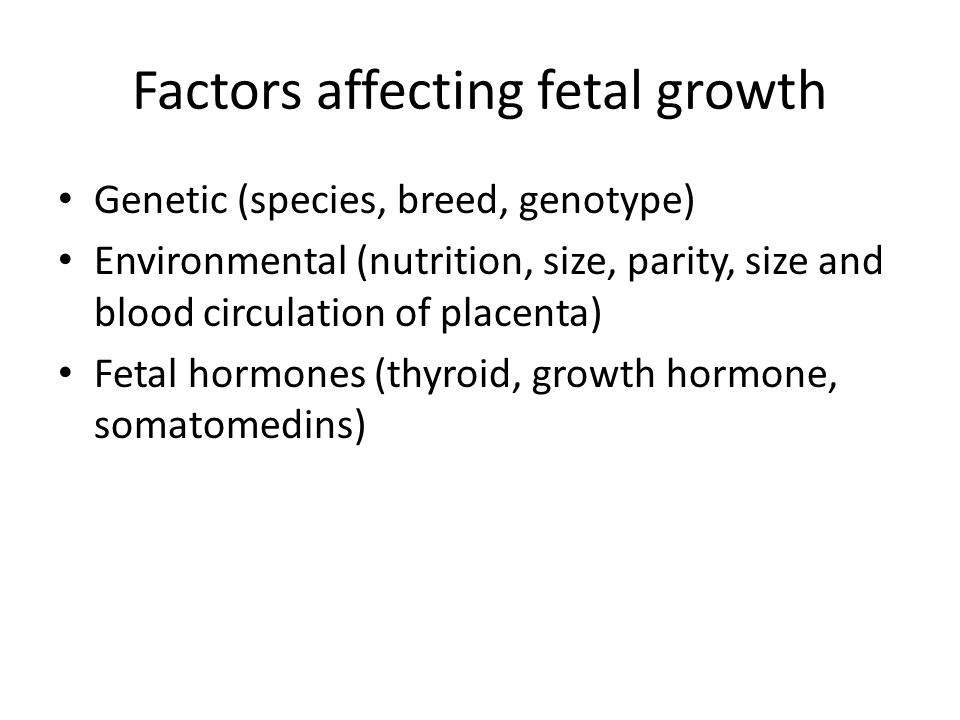 Rate of fetal growth is slow until week 20 but accelerate to a maximum at week 30-36 Peak of growth velocity is on week 8 Fetal nutrition is from CHO