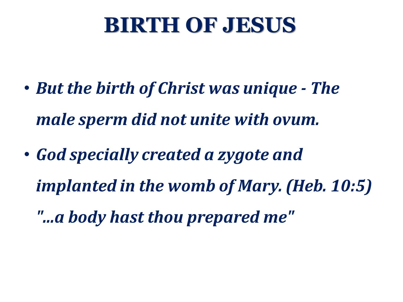 Mary is the first surrogate mother.A surrogate mother has no genetic relation with fetus.