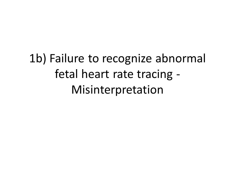 Limiting Misinterpretation A clear definition of fetal well-‐being should be used to simplify communication between nurses and physicians Definition of fetal well-‐being is – a 15 beat per minute acceleration of the FHR lasting 15 seconds.