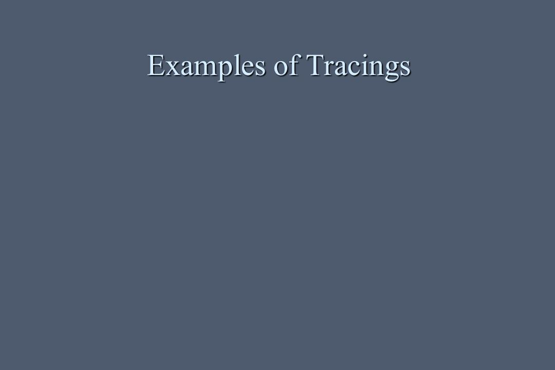 Examples of Tracings