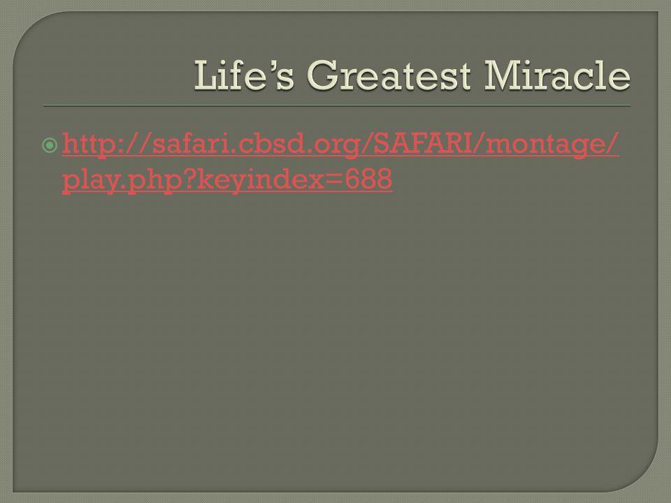  http://safari.cbsd.org/SAFARI/montage/ play.php keyindex=688 http://safari.cbsd.org/SAFARI/montage/ play.php keyindex=688