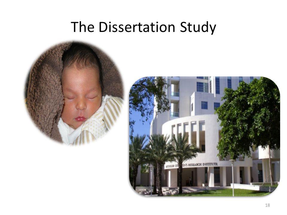 The Dissertation Study 18