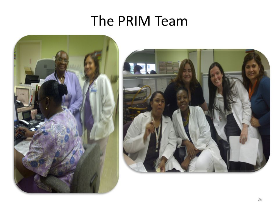The PRIM Team 26