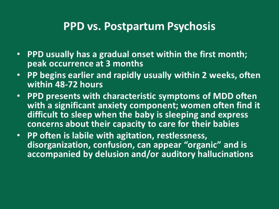 PPD vs.