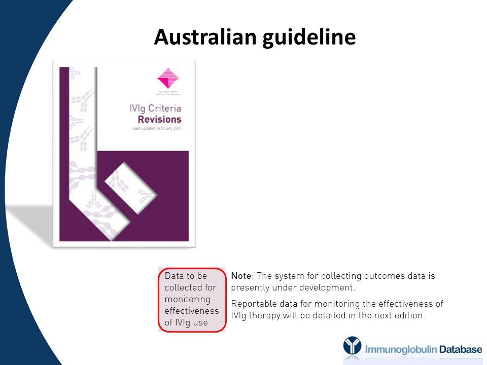 Australian guideline