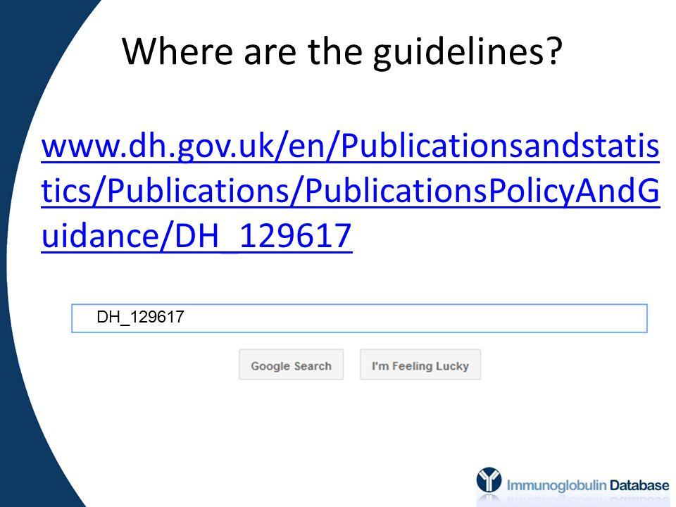 Audio slide presentations online www.ivig.nhs.uk