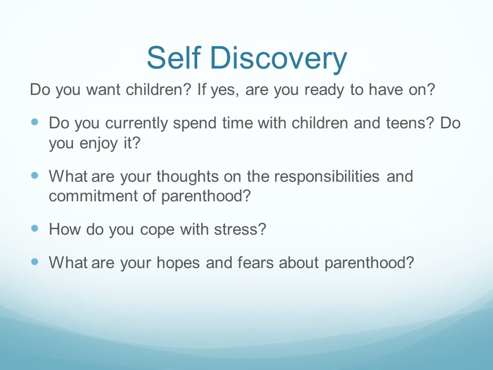 Self discovery Contd..what values and morals would you like to pass on to your children.
