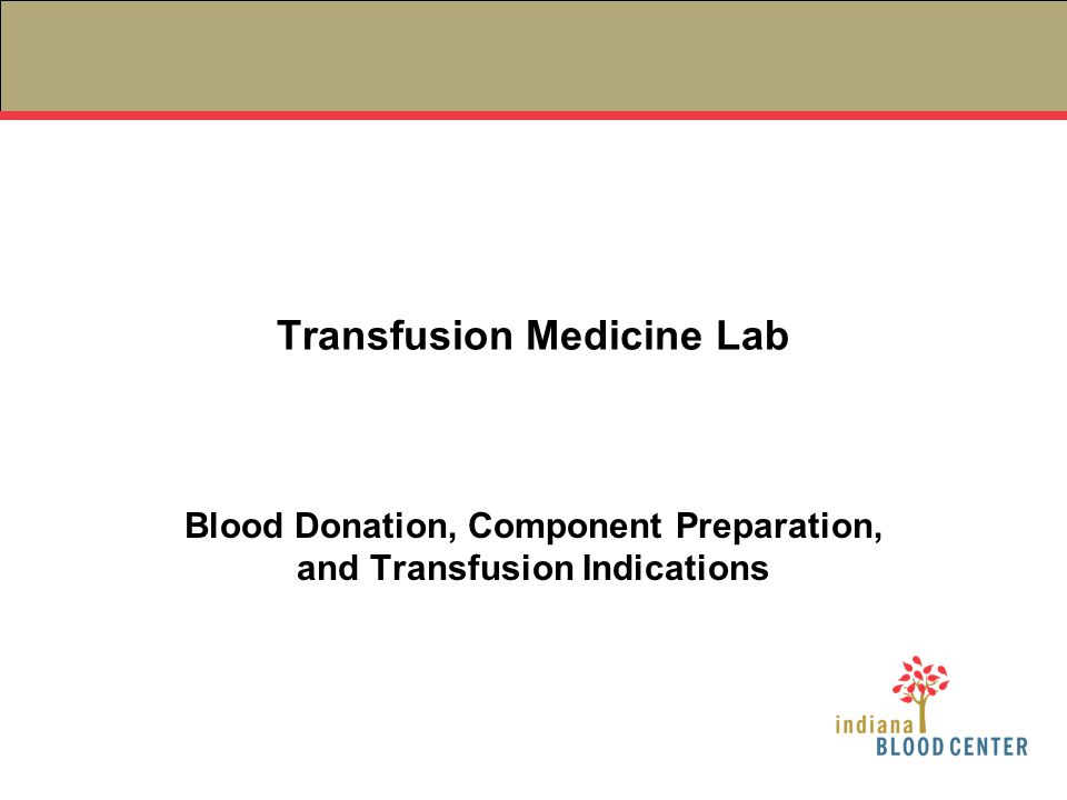 Bacterial Contamination Contaminated blood product → sepsis Most common in platelet products –Why??.