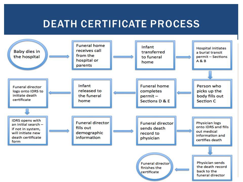 DEATH CERTIFICATE PROCESS 10.
