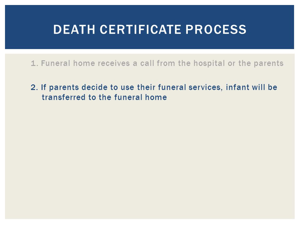  What are the steps that are taken to fill out the birth certificate.