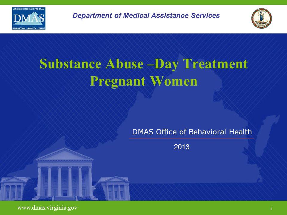 22 H0015 www.dmas.virginia.gov 22 Department of Medical Assistance Services Limitations