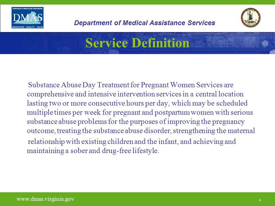5 H0015 www.dmas.virginia.gov 5 Department of Medical Assistance Services Licensing