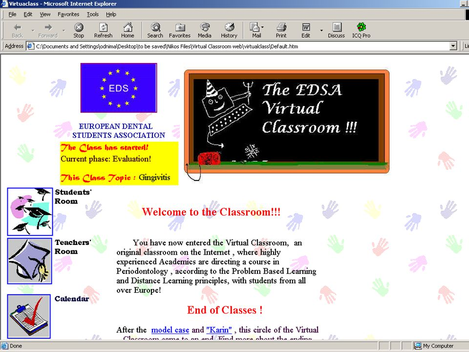 Preparatory Workshop : Barcelona October 1998!