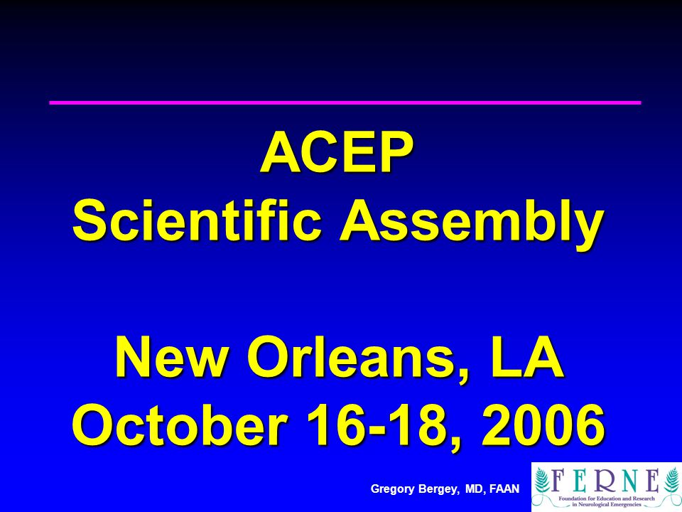 Gregory Bergey, MD, FAAN Treatment of Epilepsy: Lessons from Pivotal Trials VA status epilepticus trial demonstrated that in convulsive status phenytoin alone not as good as lorazepam or diazepam + phenytoin ( VA status epilepticus trial demonstrated that in convulsive status phenytoin alone not as good as lorazepam or diazepam + phenytoin (Treiman DM et al.