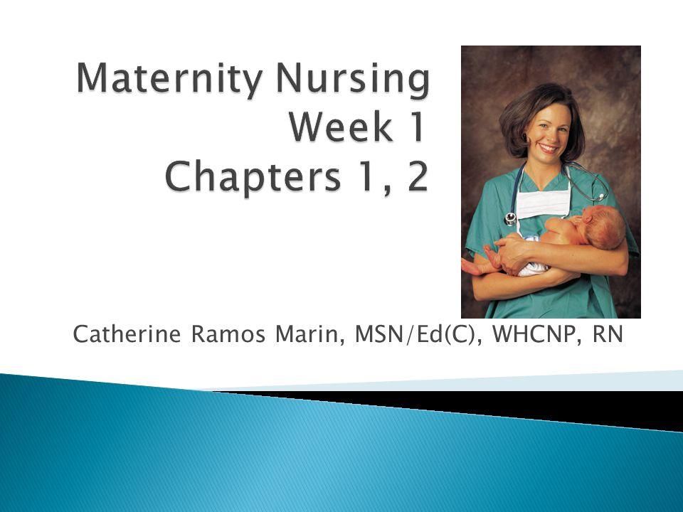 By Catherine Ramos Marin, MSN/Ed(C), WHCNP, RN