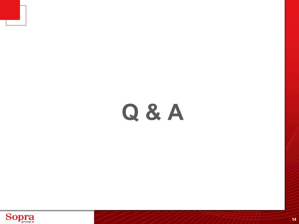 14 Q & A