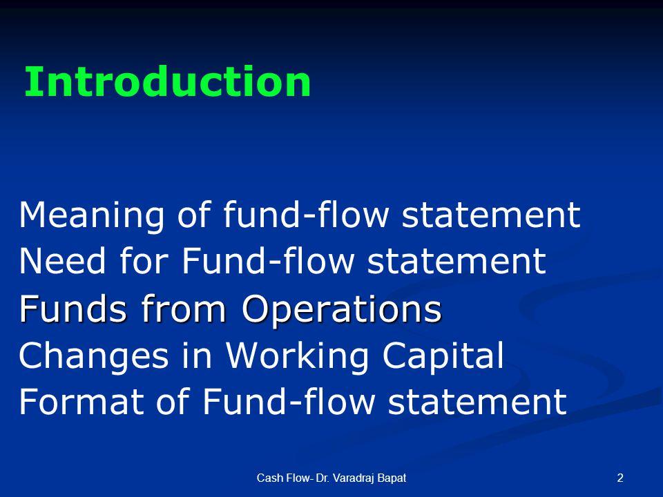 2Cash Flow- Dr.