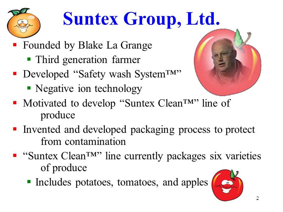 2 Suntex Group, Ltd.