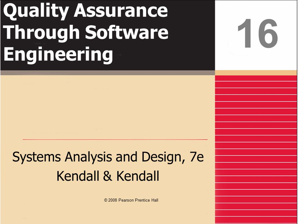 Kendall & Kendall16-12 Advantages of the Top-Down Approach Avoiding the chaos of attempting to design a system all at once Enables separate systems analysis teams to work in parallel on different but necessary subsystems Prevents losing sight of what the system is suppose to do